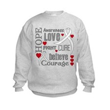 Lung Cancer Hope Sweatshirt