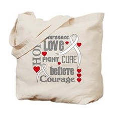 Lung Cancer Hope Tote Bag
