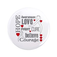 "Lung Cancer Hope 3.5"" Button"