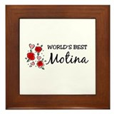 WB Mom [Lithuanian] Framed Tile