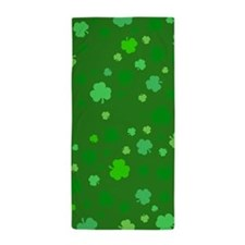 'Irish Shamrocks' Beach Towel