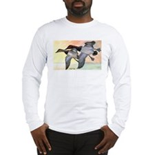 Canvasback Duck (Front) Long Sleeve T-Shirt