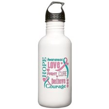 Hereditary Breast Canc Water Bottle