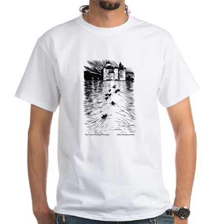 Rackham's Twelve Dancing Princesses White T-Shirt