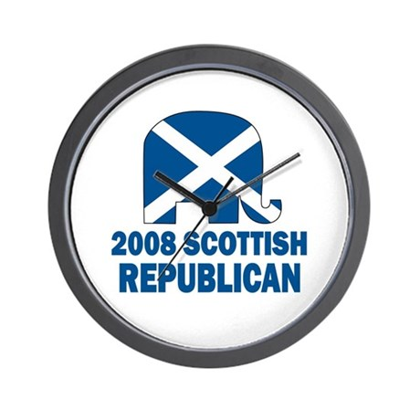 Scottish Republican Wall Clock