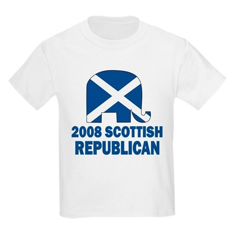 Scottish Republican Kids Light T-Shirt