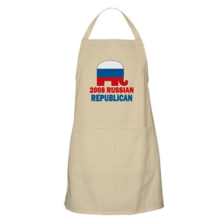 Russian Republican BBQ Apron