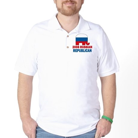 Russian Republican Golf Shirt