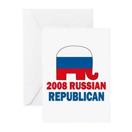 Russian Republican Greeting Cards (Pk of 10)