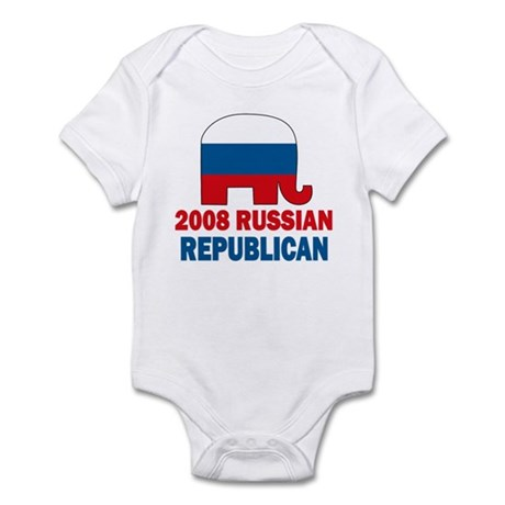 Russian Republican Infant Bodysuit