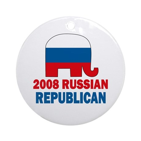 Russian Republican Ornament (Round)