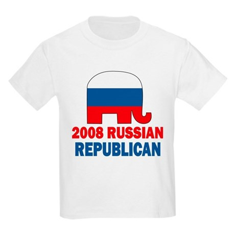 Russian Republican Kids Light T-Shirt