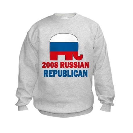 Russian Republican Kids Sweatshirt