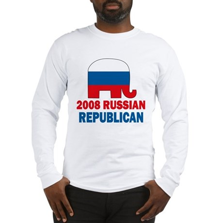 Russian Republican Long Sleeve T-Shirt