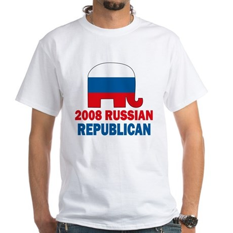 Russian Republican White T-Shirt