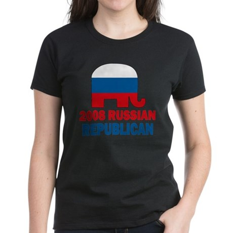Russian Republican Women's Dark T-Shirt