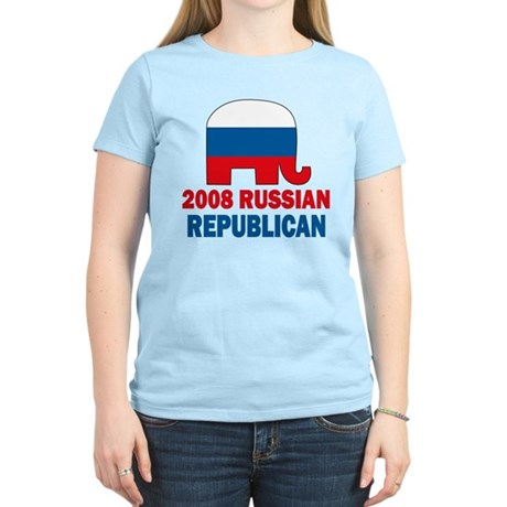Russian Republican Women's Light T-Shirt