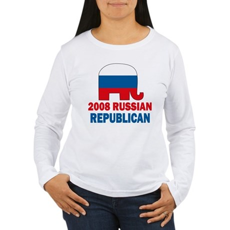 Russian Republican Women's Long Sleeve T-Shirt