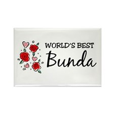WB Mom [Indonesian] Rectangle Magnet