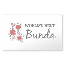 WB Mom [Indonesian] Rectangle Decal