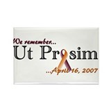 Ut Prosim Hokies Rectangle Magnet (100 pack)