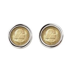 Worlds Columbian Expo Coin Cufflinks