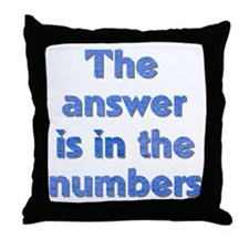 4 8 15 16 23 42 LOST Numbers gift Throw Pillow