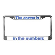 4 8 15 16 23 42 LOST Numbers gift License Plate Fr