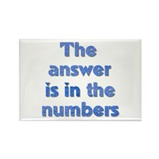 4 8 15 16 23 42 LOST Numbers gift Rectangle Magnet