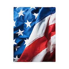 American Flag Twin Duvet