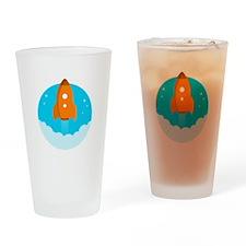 Round Rocket Drinking Glass