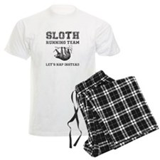Sloth Running Team Pajamas