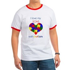 I love my Sons with Autism T