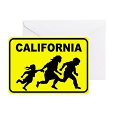 Welcome To Cali Greeting Cards (Pk of 10)