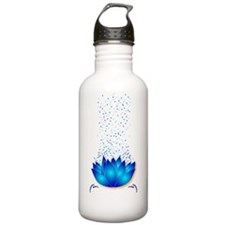 Lotus_dark T-shirt Water Bottle