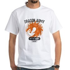 Ender's Game Dragon Army White Shirt