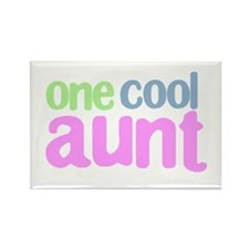 one cool aunt Rectangle Magnet
