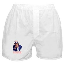 Personalize Uncle Sam Boxer Shorts