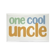 one cool uncle Rectangle Magnet