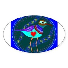 killdeer Oval Decal