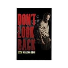 Rick Don't Look Back Rectangle Magnet