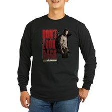 Rick Don't Look Back Long Sleeve Dark T-Shirt