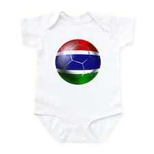 Gambia Football Onesie