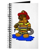 Mike the Firefighter Bear Journal