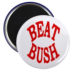 Beat Bush Magnet (10 pack)