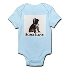 Boxer Puppy Infant Creeper