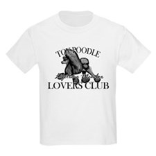 Toy Poodle Lovers Club BLK T-Shirt