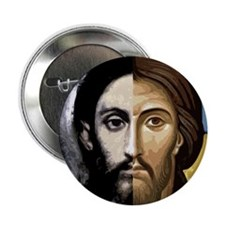 "MAN and GOD 2.25"" Button (10 pack)"