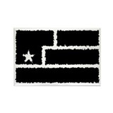 Resistance Flag Rectangle [blk 2] Magnet (10 pack)