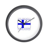 Turku, Finland Wall Clock